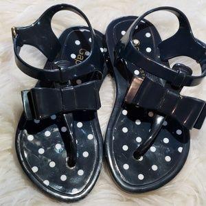 Toddler Girl's GAP Navy Blue Sandals sz 8